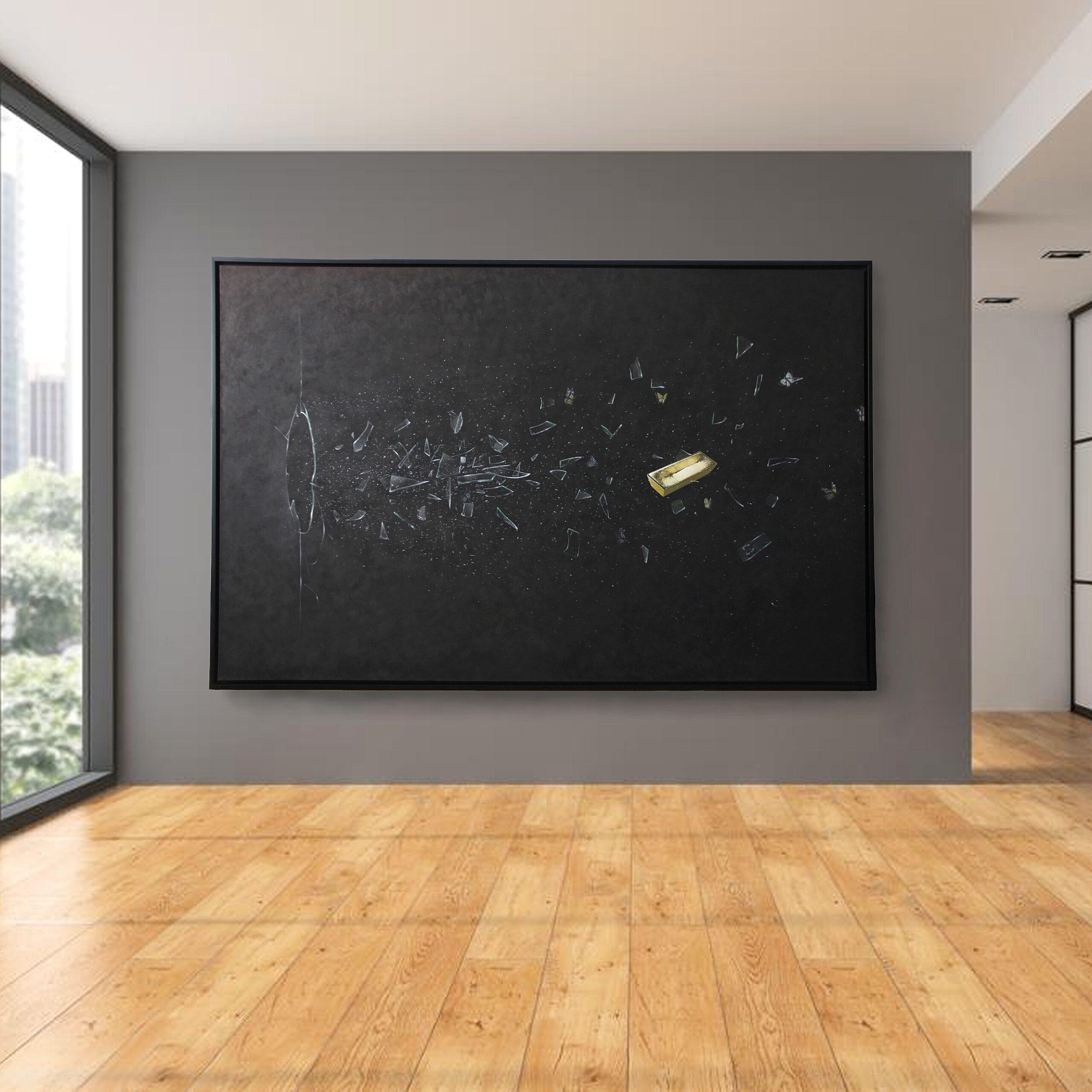 Oil on canvas 250 x 160 cm David Christiaan